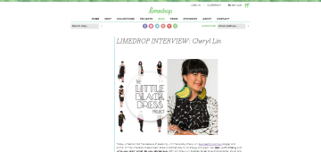20140528 limedrop label interview cheryl lin